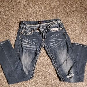 Angel's brand bootcut jeans